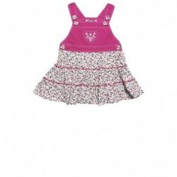 uti Nati Red-White Toddler Girls Dress