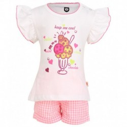 Baby League PINK Tops & Bottoms Sets