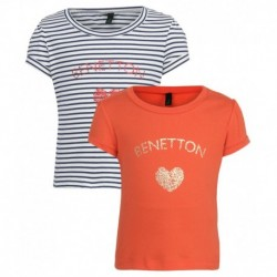 United Colors of Benetton Pack Of 2 Printed T-Shirts