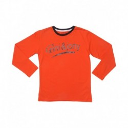 Gini & Jony Orange Round Neck T Shirt
