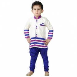 Jbn Creation Multicolour Kurta Pajama Set For Boys