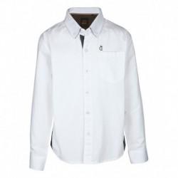 Gini & Jony White Full Sleeves Shirt