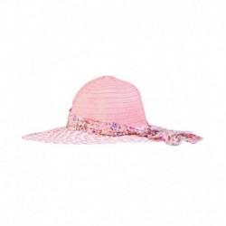 Fabseasons Peach Polyester Fidora Hat