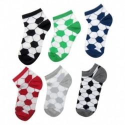 Neska Moda Multicolour Cotton Casual Full Length Socks Pack Of 6