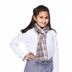 Citypret Pink Cotton Casual Scarves For Kids