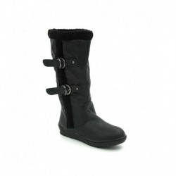 Belle Gambe Black Flat Boots