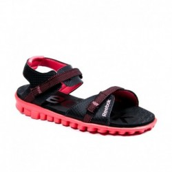 Reebok Black Floater Sandals