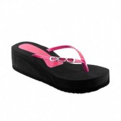 Shoe Lab Pink Slippers & Flip Flops