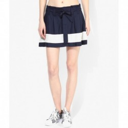 Vero Moda Navy Cotton Skirt