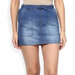 American Swan Blue Skirt