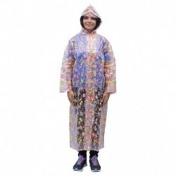 Romano WomenS Transparent Rainwear Windcheater Overcoat