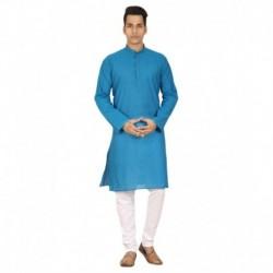 Trustedsnap Blue Kurta Pyjama Sets