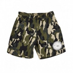 Gini & Jony Green Cotton Shorts