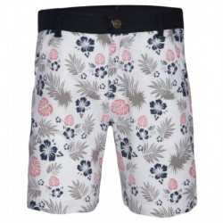 Gini & Jony White Printed Regular Fit Shorts
