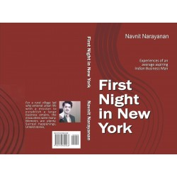First Night in New York - Book